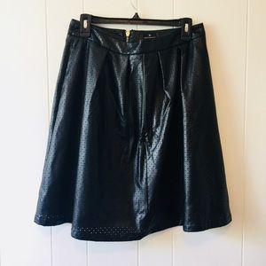 Worthington Faux leather skirt Size 6